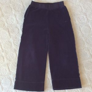 Other - Sonia Rykiel childs size 4 Black velour pant